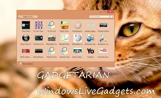 Enable Desktop Gadgets on Windows 10, with Gadgetarian
