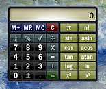Desktop Calculator Gadget